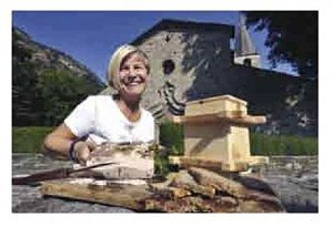 Viaggio in Valle d'Aosta. Marilena Bertolin