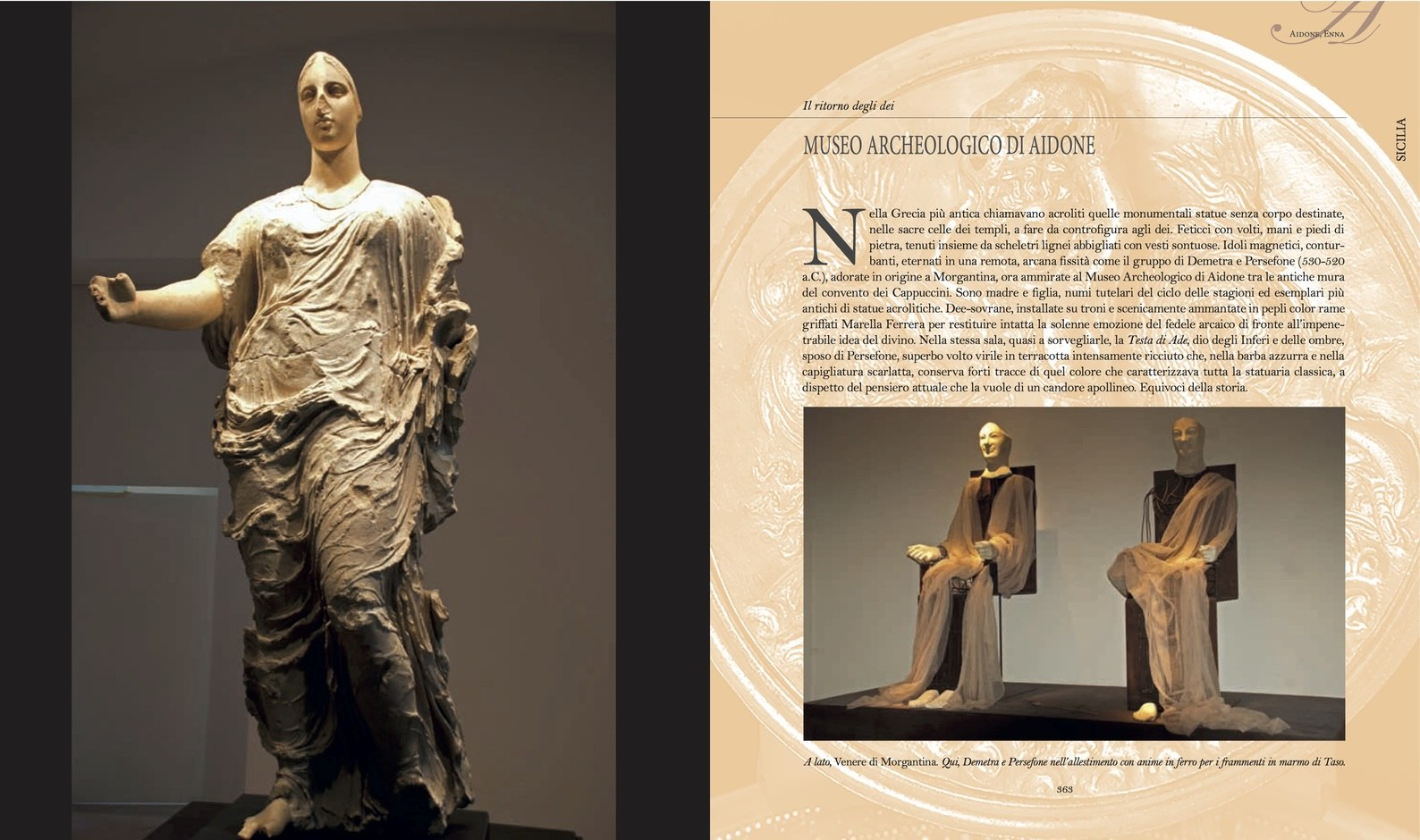 Aidone. Museo archeologico di Aidone