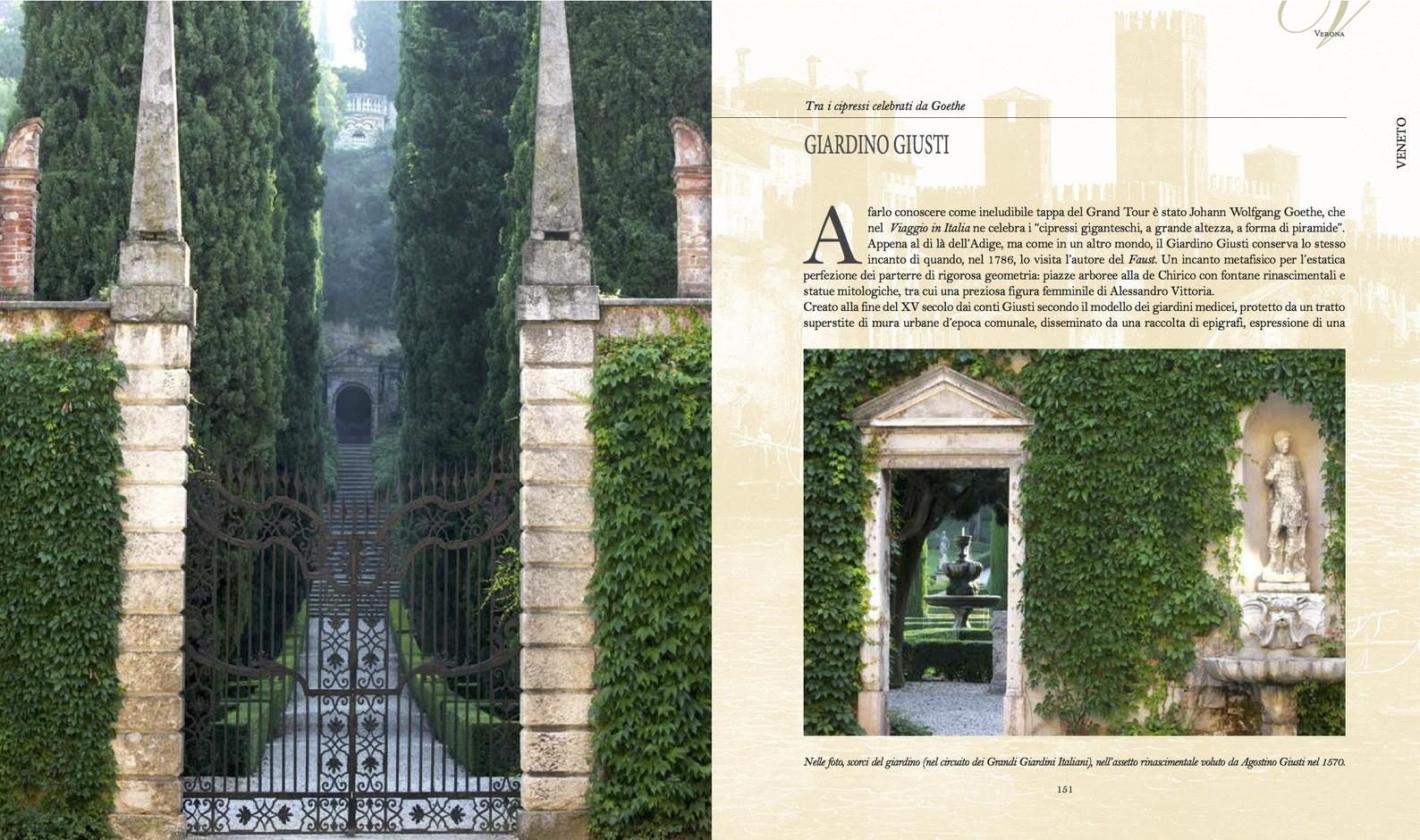 Verona. Giardino Giusti